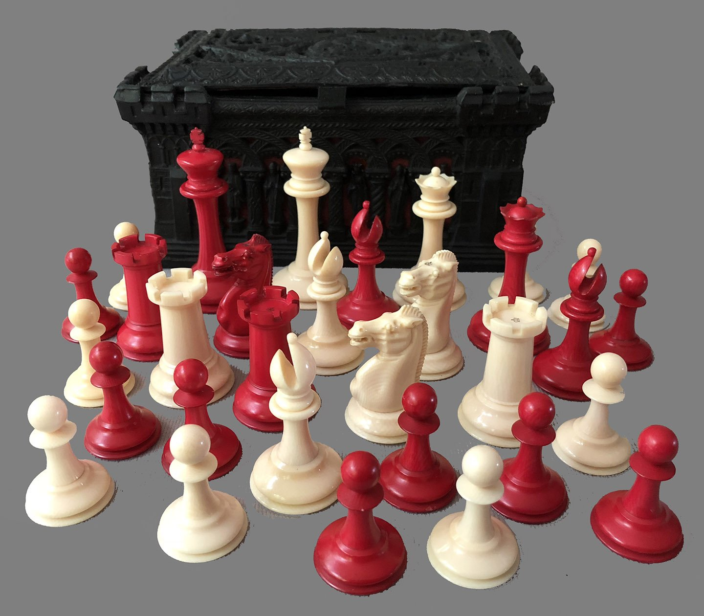Jaques Ivory Anderssen Chessmen