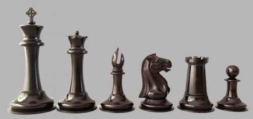Imperial Mammoth Staunton Chessmen.