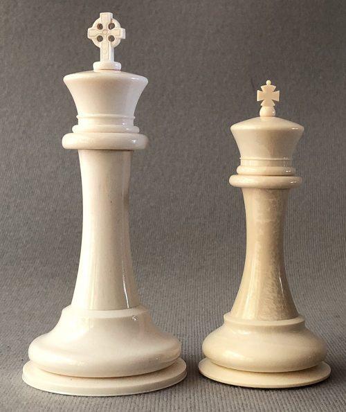 Imperial Mammoth Staunton Chessmen.