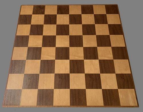 Anri Mahogany Chessboard