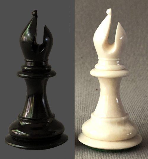 House of Staunton Bone Imperial Chessmen