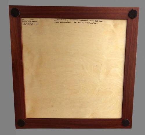Birdseye Maple and Bloodwood Signature Chessboard