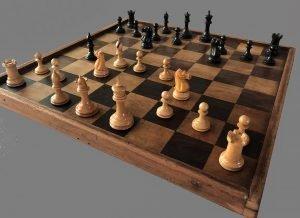 Library Size Jaques Lasker Chessmen