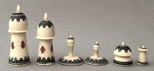 Antique Muslim Chess Set