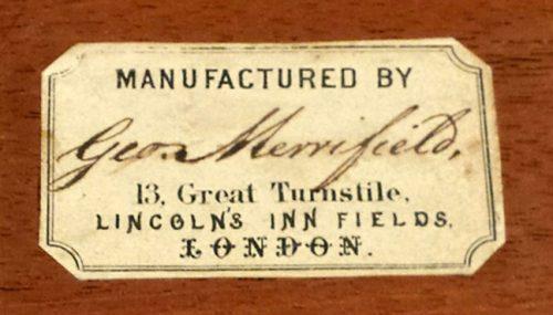 George Merrifield Philidor Chessmen