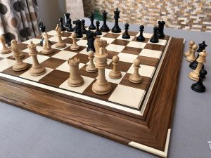 Signature Holly and Teak Chessboard