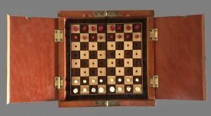 Jaques Whittington Travel Chess Set