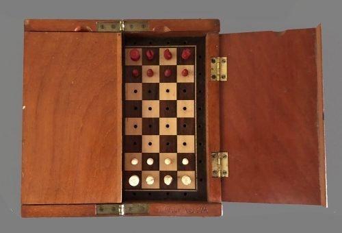 Jaques Whittington Travel Chess Set