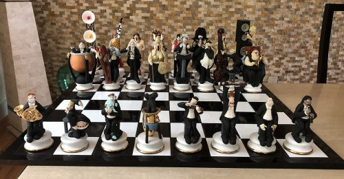 Doug Anderson Rockers Chess Set