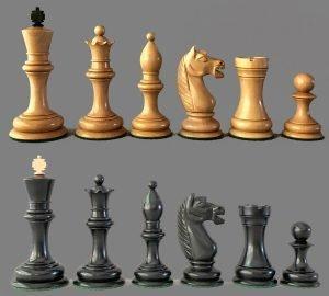 Botvinnik Flohr 1933 Chessmen