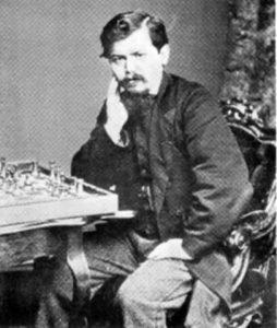 Wilhelm Steinitz in 1866