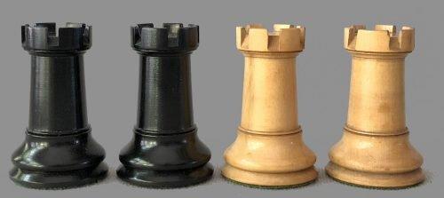 Antique Ayres Staunton Chessmen