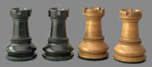 British Chess Company Library Size Staunton Chessmen