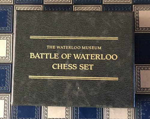 Franklin Mint Battle of Waterloo Chess Set