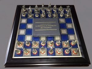 Franklin Mint Waterloo Chess Set