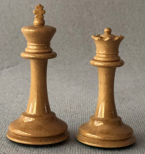 Jaques Anderssen Library Size Chessmen