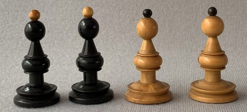 Antique Austrian Coffeehouse Chess Pieces