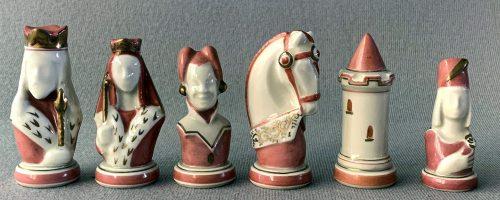 Limoges Porcelain Chess Set
