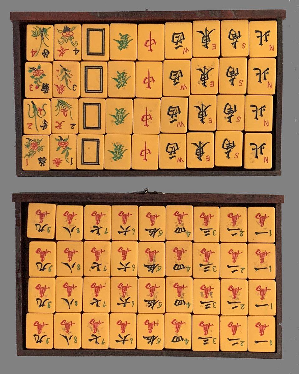 Vintage mahjong sets for sale