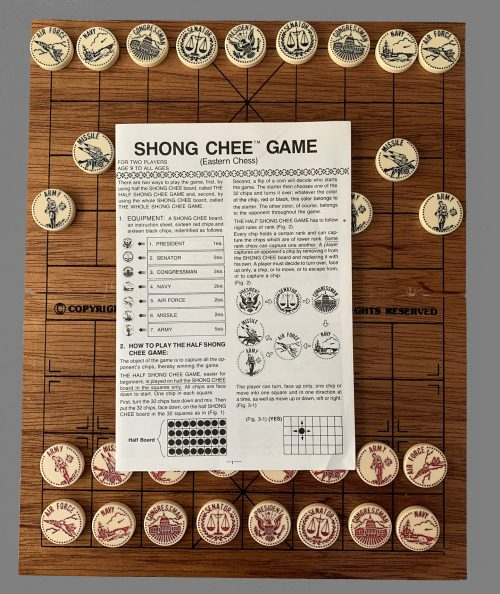 Shong Chee Eastern Chess Set