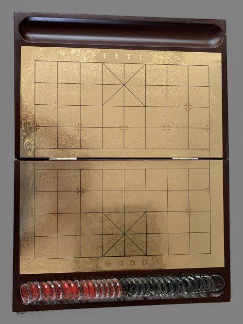 Etched Glass Xiang Qi Set