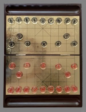 Etched Glass Xiangqi Set, Xiang Qi