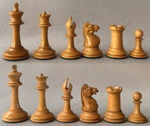 Jaques Anderssen Library Chessmen