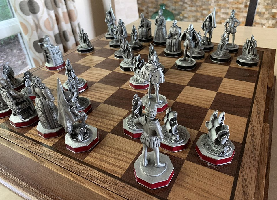 Danbury Mint Armada Chess Set