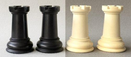Cooke Mammoth Ivory 1849 Chessmen