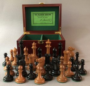 Reproduction Jaques Harrwitz Staunton Chessmen