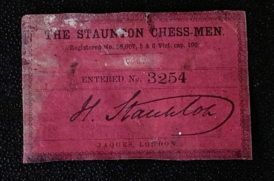 Lot #545  Jaques Carton Pierre Casket #3254