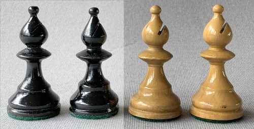 William Pinney Antique Chessmen, Tournament Size