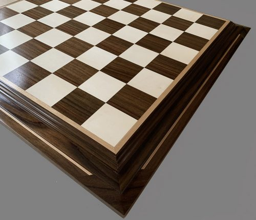 Holly and East Indian Rosewood Premium Chessboard