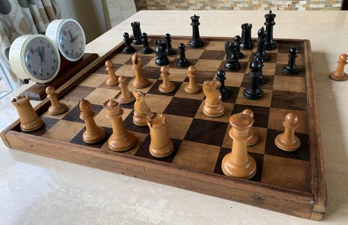 Type 10 Staunton Chessmen, Tournament Size