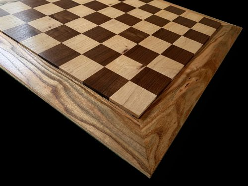 American Black Walnut, Pecan and Locust Premium Chessboard