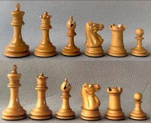 Jaques Zukertort Library Chessmen