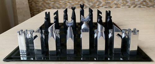 Studio Anne Carleton Abstract Chess Set