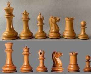 Reproduction Nathaniel Cooke 1849 Staunton Chessmen