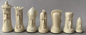 Ganine Sculptured Gothic Chess
