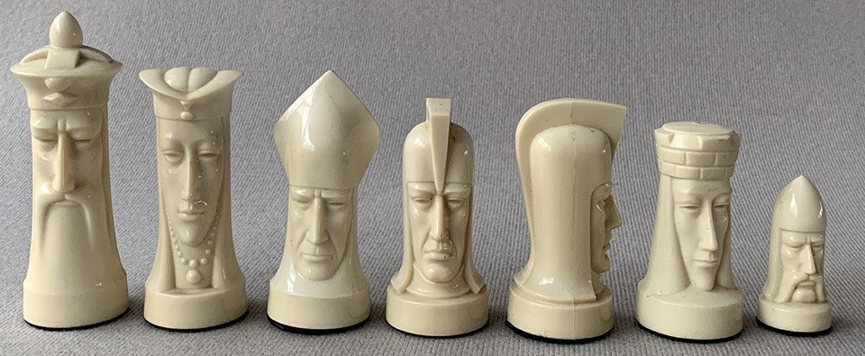 Ganine Sculptured Gothic Chess