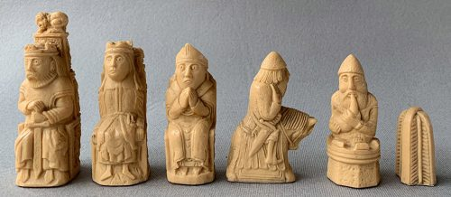 Reproduction Isle of Lewis Style Medieval Chessmen