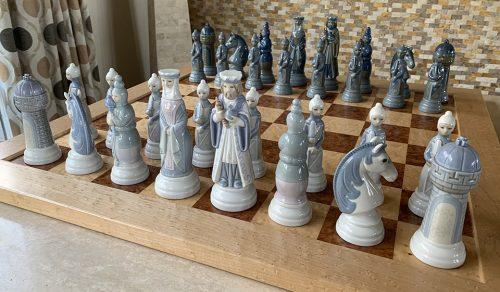 Lladró Porcelain Chessmen