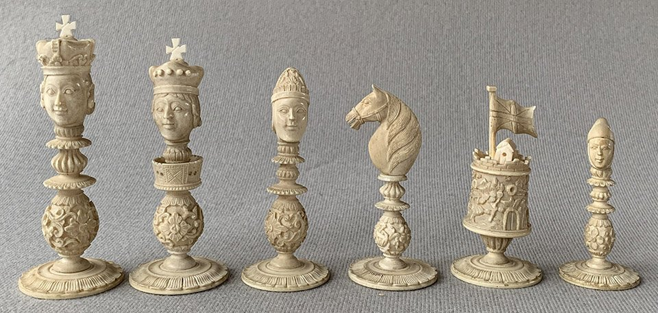 Burmese Type IV Macao Chessmen