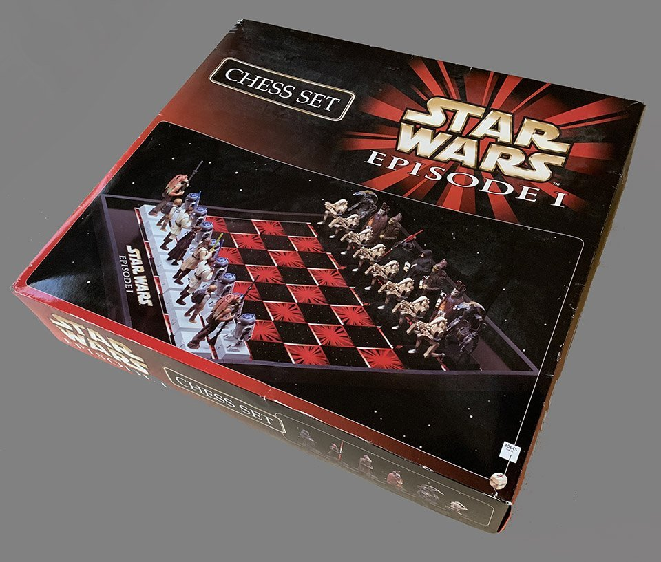 Star Wars Episode I Chess Set: The Phantom Menace