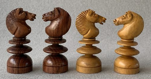 Rosewood Jaques English Pattern Chess Set