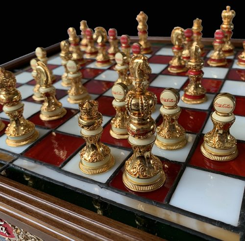 Coca Cola Chess Set