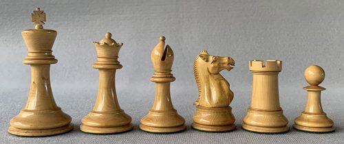 Jaques Hartston Tournament Chessmen, Circa 1890