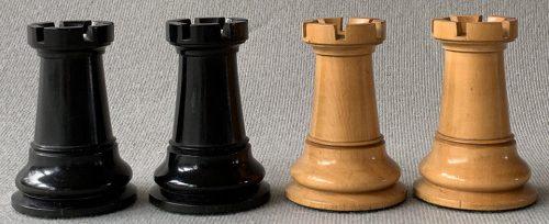 Full Club Size Jaques Paulsen Chessmen
