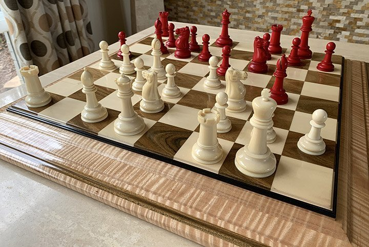 Tournament Size Late Victorian British Staunton Chessmen