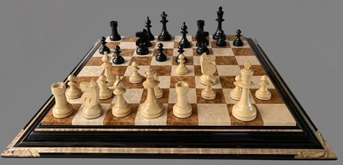 William Pinney Reproduction Chessmen, Master Size